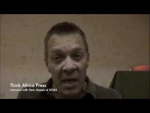 Hein Marais interviewed at SOAS by Think Africa Press