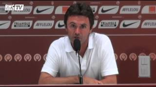 """Football / Ripoll : """"Je ne me fais pas de souci pour Monaco"""" 10/08"""