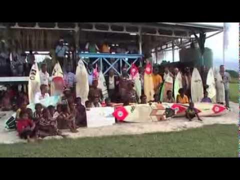 Surf Board Donation - Tupira Surf Club Papua New Guinea