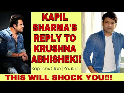 KAPIL SHARMA'S REPLY TO KRUSHNA ABHISHEK  || Latest Interview || Kapilians Club