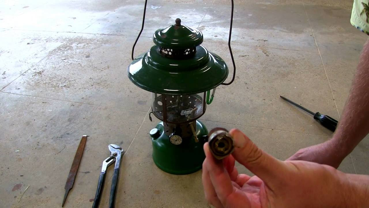EASY Check Valve Removal Coleman Lanterns