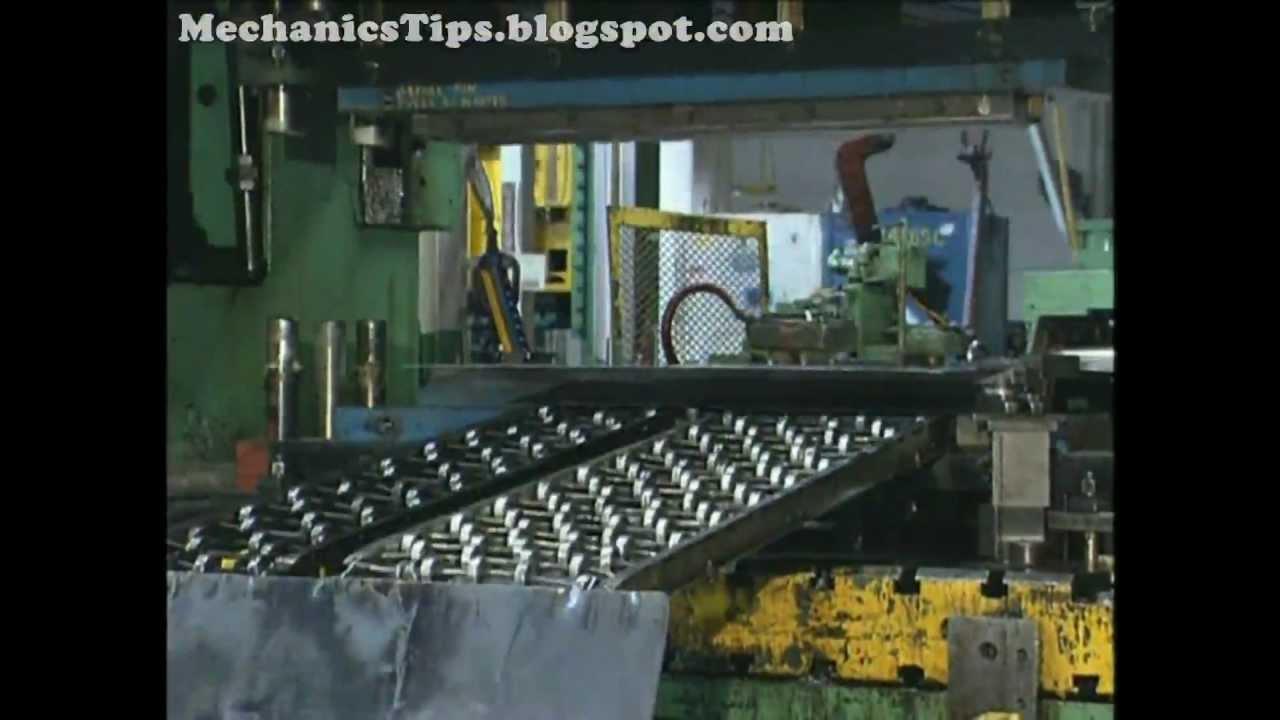 Sheet Metal Cutting Operations Punching Amp Blanking Youtube
