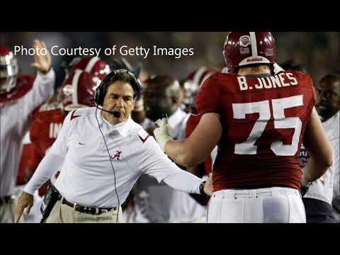 Former OL Barrett Jones Previews Clemson/Alabama and talks Alabama