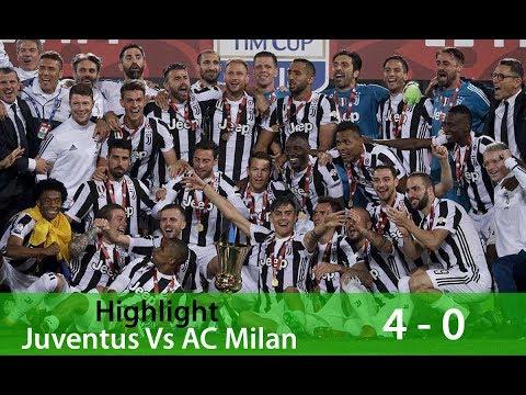 Highlight Juventus vs AC Milan: Skor 4-0 | Final Coppa Italia 10 Mei 2018 Mp3