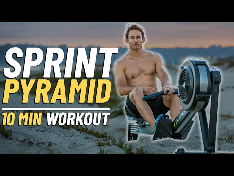 10 Minute Rowing Sprint Workout, THE PYRAMID