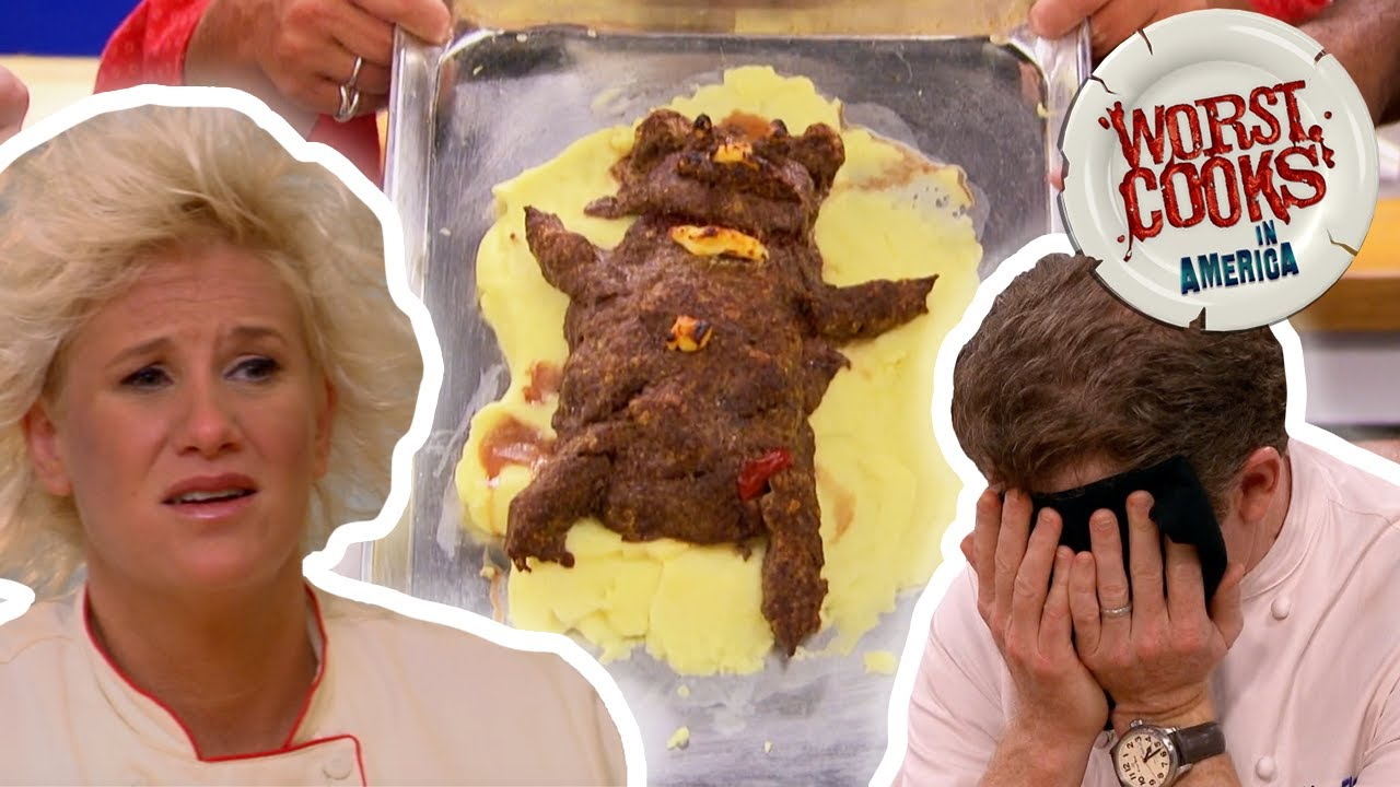 Download Top 10 Most-Outrageous Dishes from Worst Cooks in America | Worst Cooks in America | Food Network