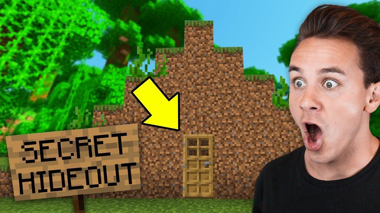 We Found A Secret Base In Our Minecraft Server    - Preston Smp