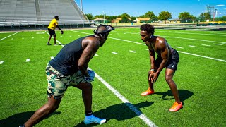 I GOT EXPOSED BY AN NFL LEGEND! (1ON1'S AGAINST DEZ BRYANT)