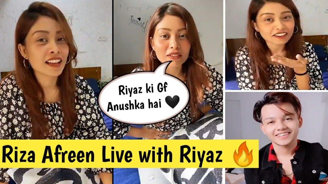 Download Riza Afreen Instagram Live Video ⭕ with Riyaz | Riyaz ali Girlfriend?