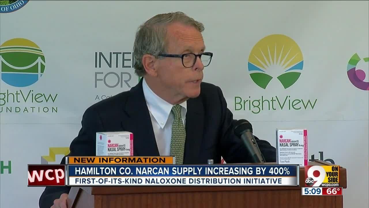 County to Start New Naloxone Distribution Program