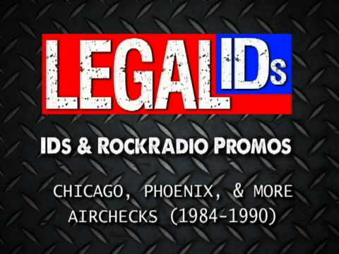 Rock Radio Legal IDs and Station Promos