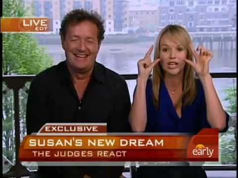 Susan Boyle's judges talk with CBS Morning!