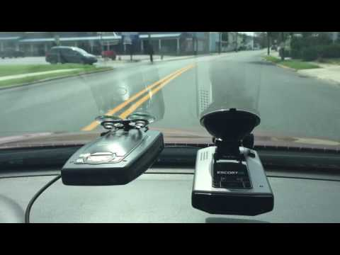 Escort iX versus Passport 9500ix on Ka Band Police Radar