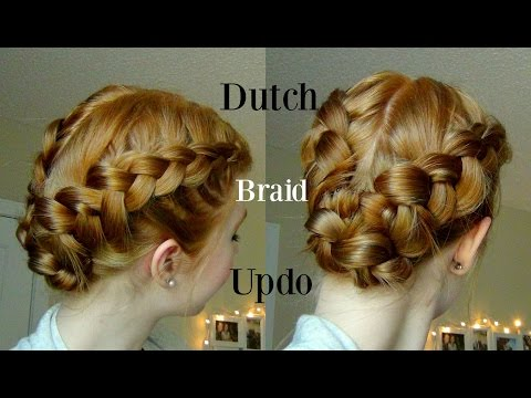 Double Dutch Braid Updo