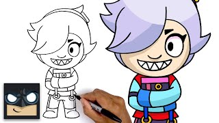 How To Draw Colette  Brawl Stars