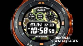 Новые смарт часы от Casio - Pro Trek Smart WSD-F20 НОВИНКА 2017 !