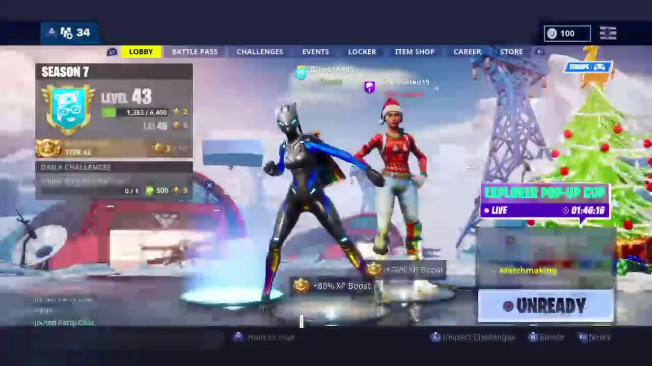 Fortnite Winter Stream 4 New Vaulted Game Mode 14 Days Of Fortnite