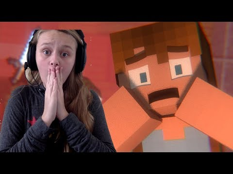 REACTING TO A MINECRAFT MURDER MYSTERY ANIMATION!