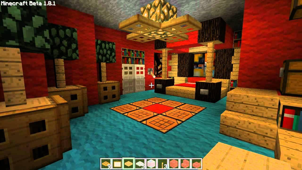 Minecraft Deco Interieur Moderne