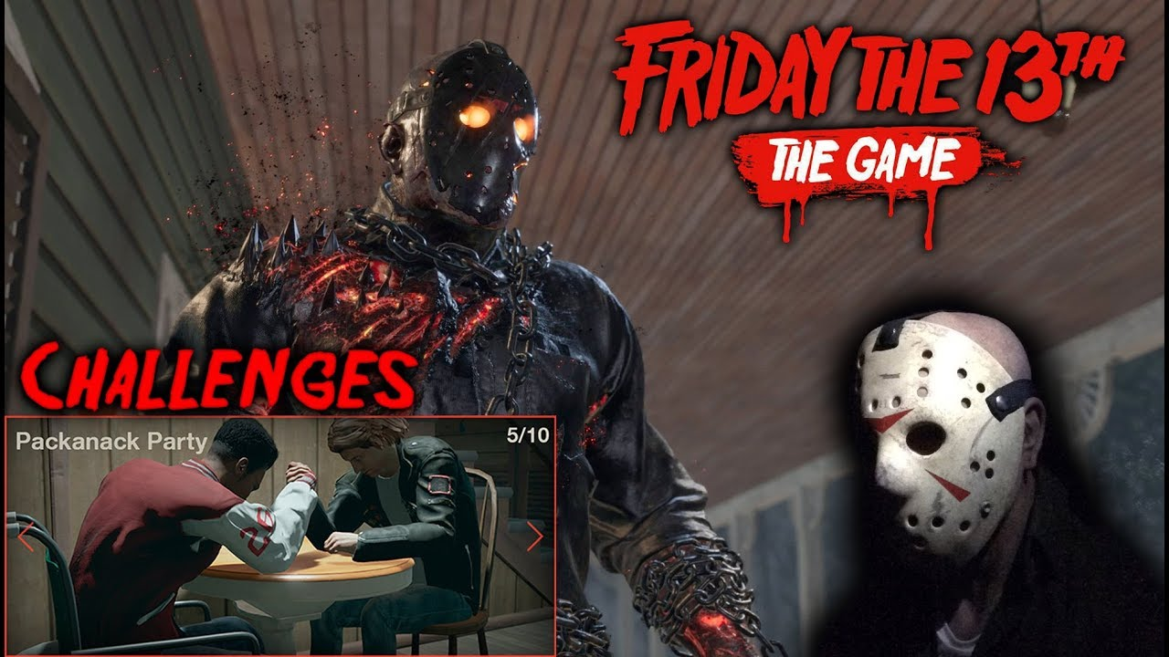 Friday the 13th The Game Challenges-CODEX | IVOGAMES