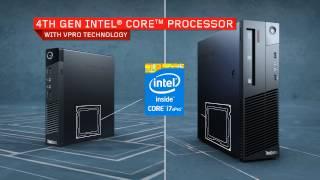 Paket Komputer Lenovo ThinkCentre M93p Desktop Core i5 - LED 19 inch kotak