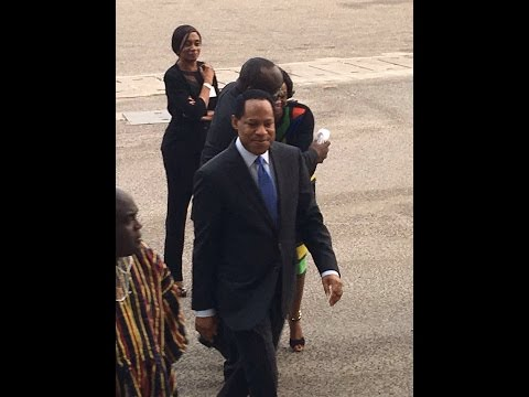 PASTOR CHRIS ARRIVES IN GHANA 2016
