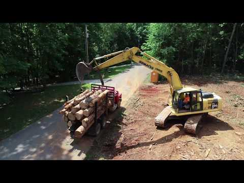 LTS Construction of Huntland TN land clearing project 7