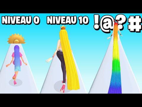 LES PLUS LONGS CHEVEUX DU MONDE ! (Hair Challenge)