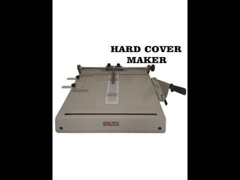 Hard Cover Maker _ Demo/Tutorial - YouTube