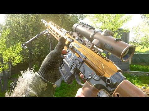 NOUVEAU SNIPER sur COD !! (Call of Duty: Modern Warfare Remastered)