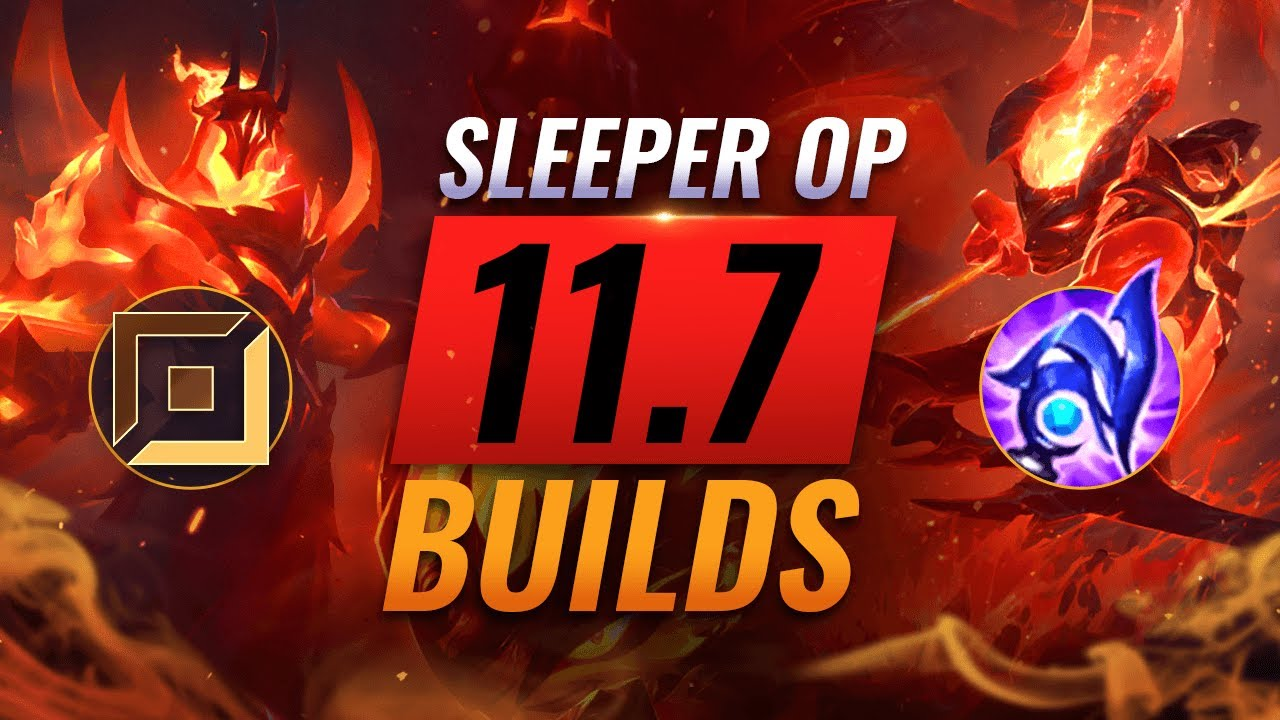 5 NEW Sleeper OP Picks & Builds Almost NOBODY USES in Patch 11.7 - League of Legends Season 11