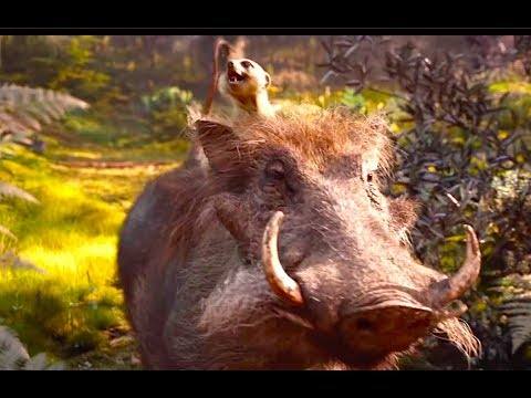 First Look At Scar, Timon And Pumbaa! - The Lion King Movie - Disney Family Movie HD