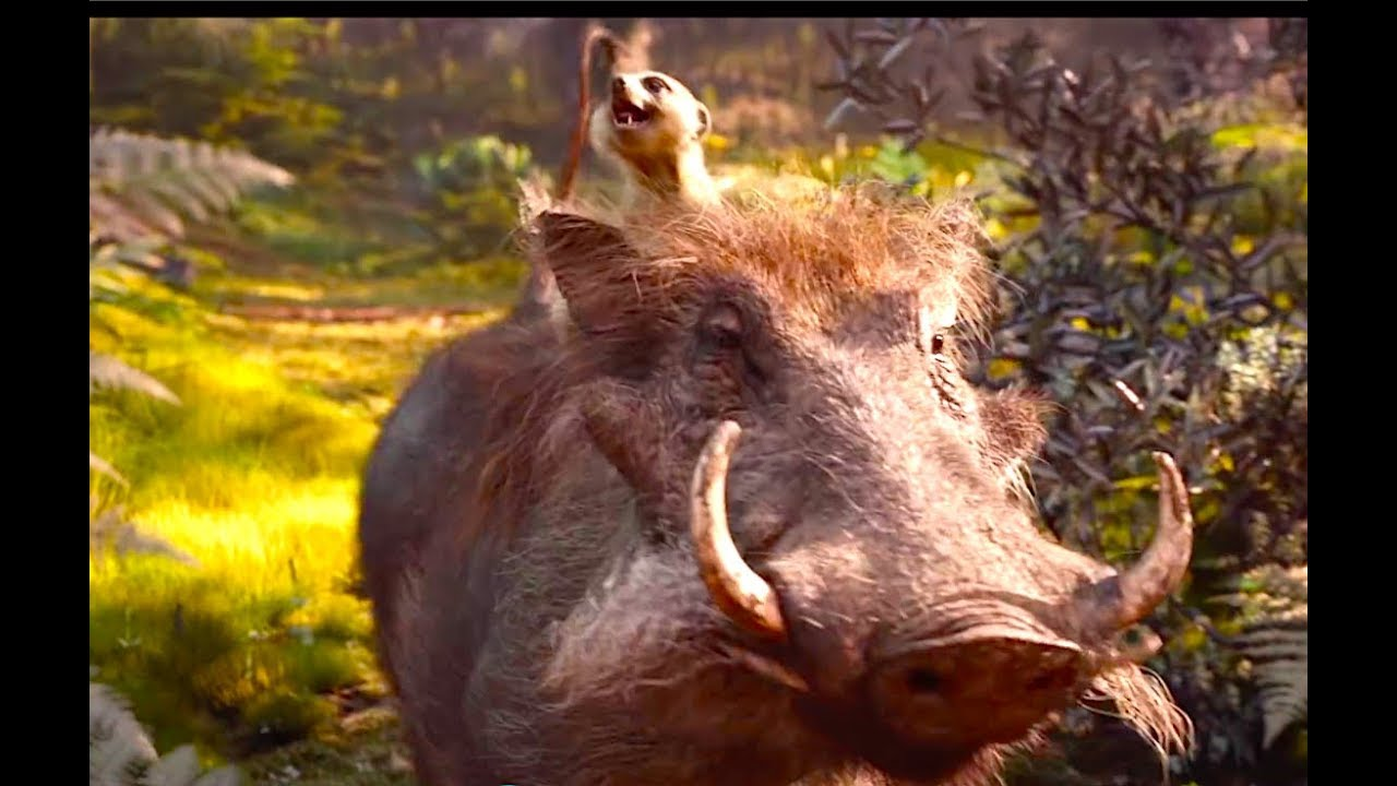 First Look At Scar Timon And Pumbaa The Lion King Movie Disney Family Movie Hd Youtube