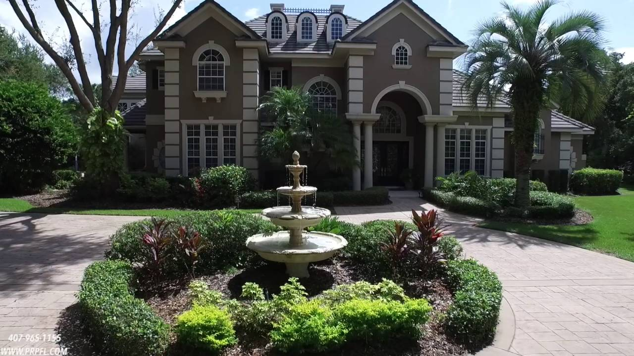 Luxury Homes | Custom Estate - 8713 WHITE IBIS CT, ORLANDO ...