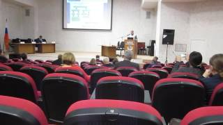 Фармацевтическая конференция в РУДН 24 октября 2016 года