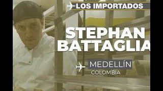 Stephan Battaglia, el panadero que se enamoró de Medellín - Los Importados