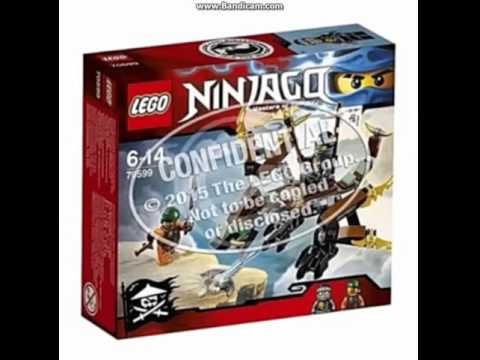 Lego ninjago zdj cia pude ek wszystkich zestaw w sezon 6 youtube - Lego ninjago 6 ...