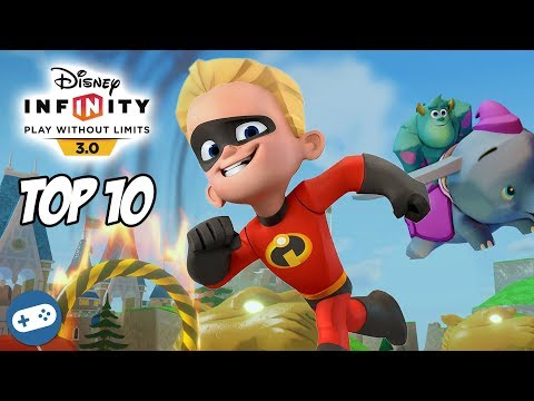 Top 10 Dash Disney Infinity Toy Box Fun The Incredibles Gameplay Videos