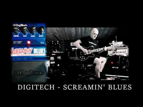 DIGITECH - SCREAMIN' BLUES [SOUNDCHECK] BASS & GUITAR _HEAVY SOUND!!!