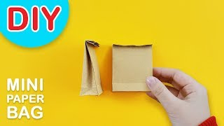 DIY Mini Paperbag or Grocery Bag