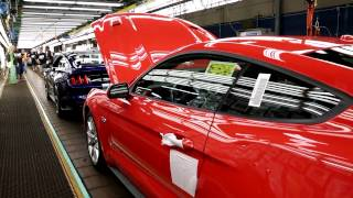 2015 Mustang Assembly at Ford's Flat Rock Assembly Plant