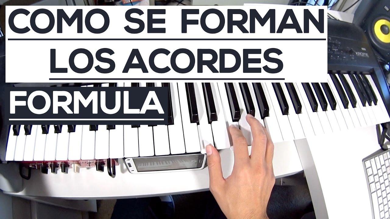 Quais são os acordes de base no piano? | Superprof