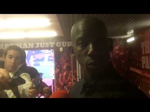 """""""Feuerstein's Fire"""" 2014 NYC Cup Bradley Wright-Phillips Post Game Interview"""