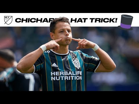 Chicharito Scores First HAT-TRICK in MLS!!