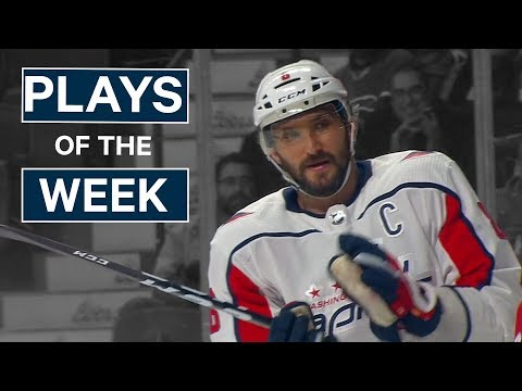 NHL Plays of The Week: Week 7 Edition - Price Robs Ovechkin, Couture Dangles The Oilers and More!