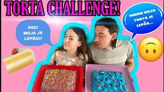 TORTA CHALLENGE! VI ODLUCUJETE CIJA TORTA JE LEPSA? PLAVA VS LJUBICASTA?!