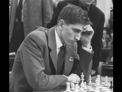 Chess Legend Fischer: Robert James Fisher - Reuben Fine, New York 1963, Evans Gambit