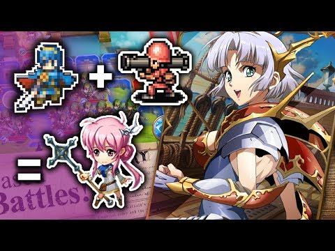 Fire Emblem + Advance Wars  = Langrisser Mobile?