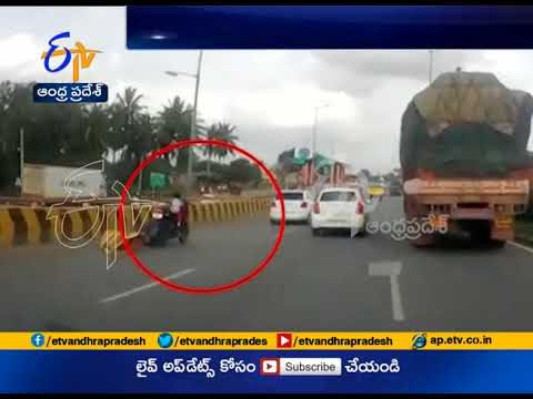 Watch Miracle | Kid Escapes Unhurt in Horrific Bike Accident | Bengaluru