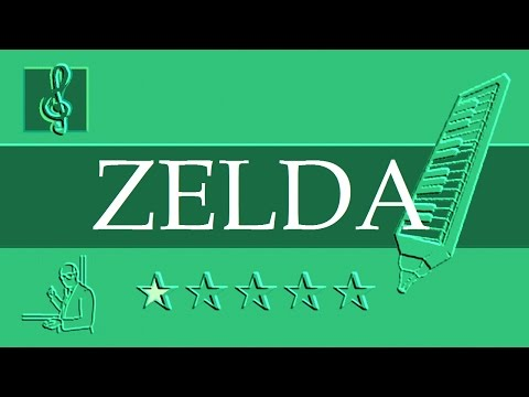 Melodica Notes Tutorial - Song of Storms - The Legend of Zelda - Ocarina of Time (Sheet Music)
